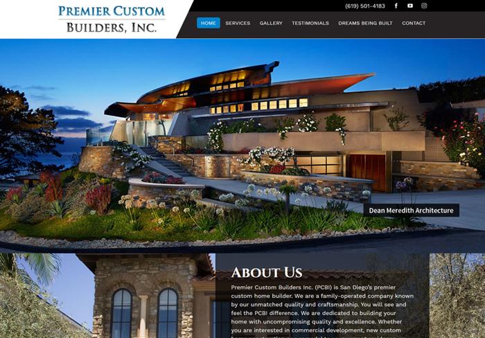 Premier Custom Builders Inc