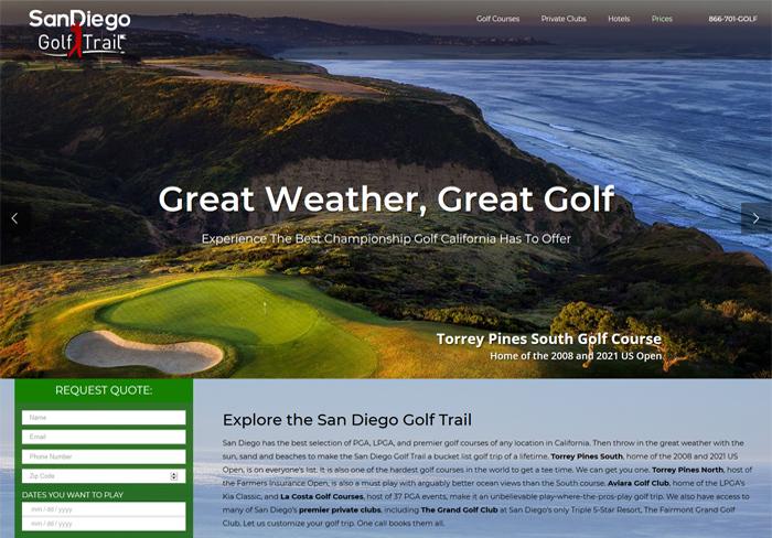 San Diego Golf Trail