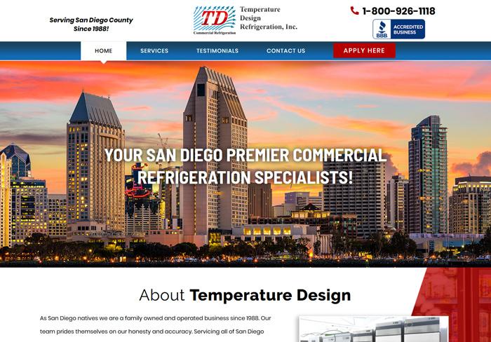 Temperature Design Refrigeration